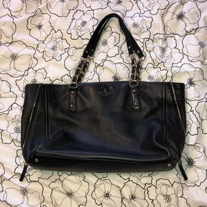 Kate Spade Leather Chain Tote